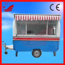 Commerical Fast Food Application China Food Caravan For Sale