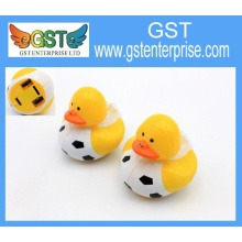 Lovely Plastic Pull Back Football Duck