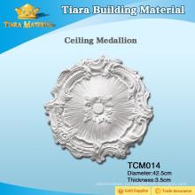 Отличный полиуретановый (PU) медальон с высеченным потолком для домашнего дизайна
