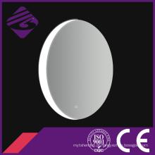 Espelho iluminado decorativo oval do banheiro da tela de toque Jnh216