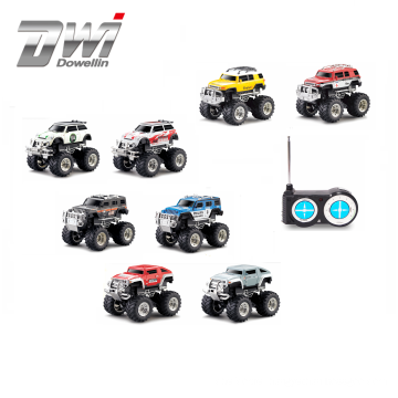DWI Dowellin diecast toy vehicles 1/43 mini remote control car with lights