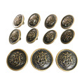 Vintage Antik Messing Metall Blazer Button Set