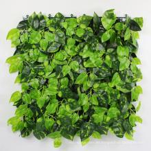 Hotel decoración hojas de follaje de vegetación artificial