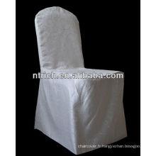 Couverture de chaise amovible, couverture de chaise de qualité supérieure, couverture de chaise de Damas a recommandé