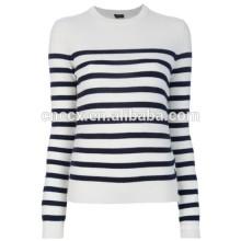 15STC6712 suéter listrado cashmere