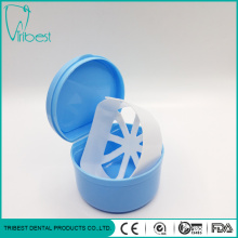 Plastic Colorful Semicircle Teeth Box With Basket