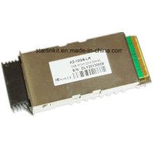 Émetteur-récepteur à fibre optique X2-Lr de 3ème partie compatible avec les commutateurs Cisco