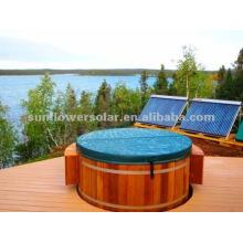 Collecteur thermique solaire pressurisé pour piscine