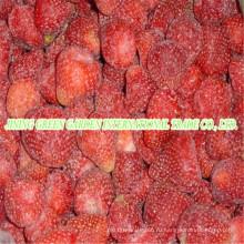 2016 Новый урожай iqf замороженные фрукты Клубника