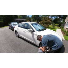 PVC waterproof car covers sun dustproof cover