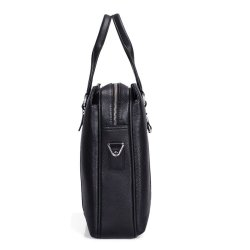 Multi-purpose portable pu shoulder bag for men