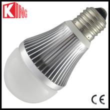 UL aqueça o bulbo branco do globo do diodo emissor de luz do branco 2700k SMD5630 7W