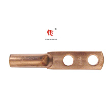 Cosses à sertir en cuivre (long canon, 2 trous)