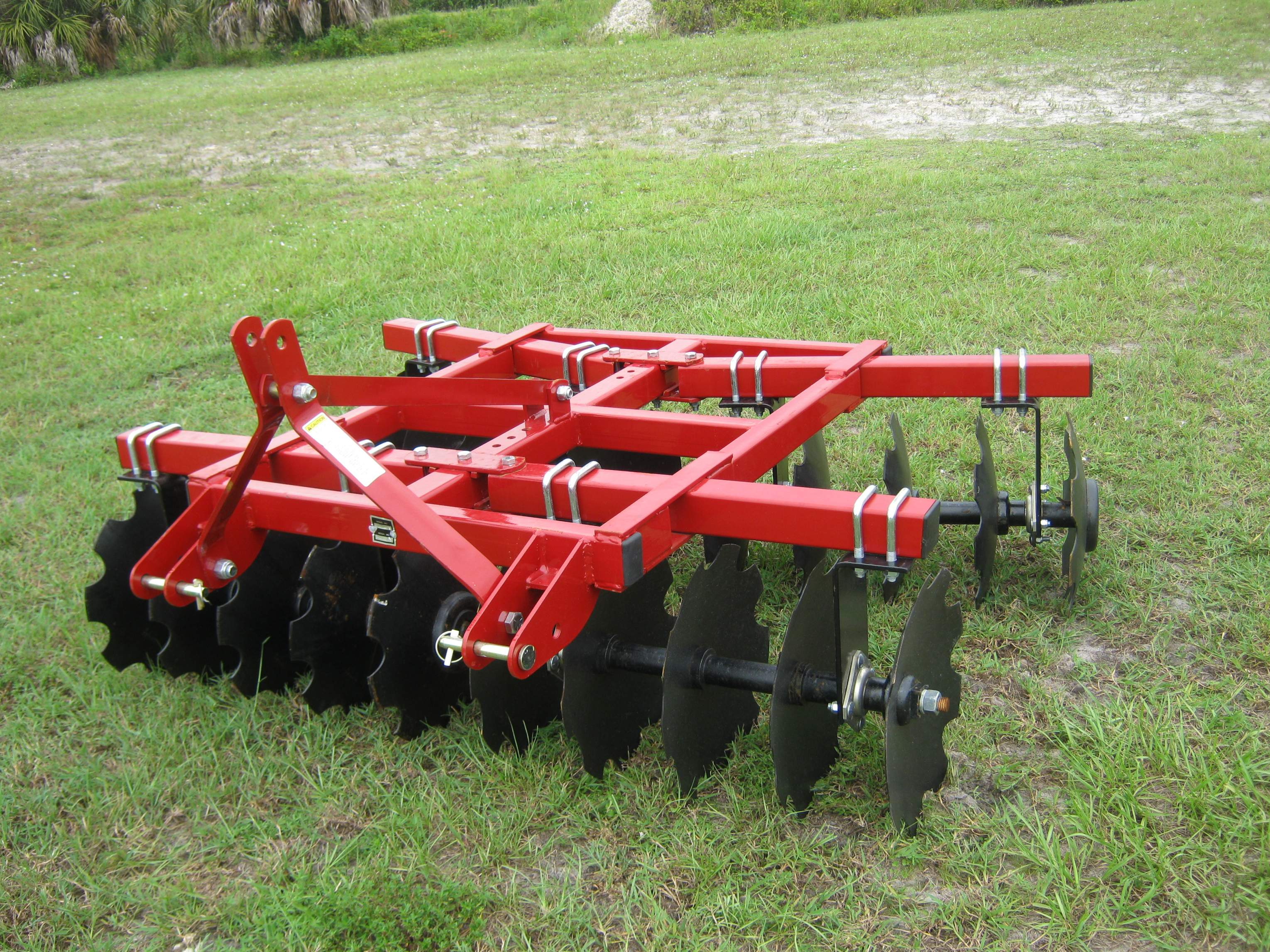 Tractor Mounted Harrow