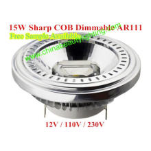 LED Lumière LED COB Dimmable LED AR111