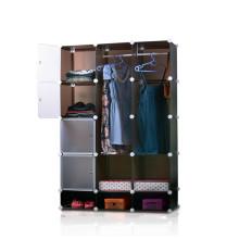Rack de armazenamento cubo - pode segurar roupas, brinquedos (fh-al00740-4)