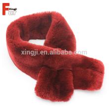 Bufanda verdadera real de la piel del conejo de Rex del color teñido de alta calidad