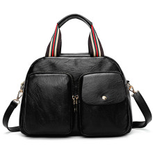 Leisure fashion multifunction female black bags