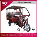 """Triciclo do """"trotinette"""" da motocicleta do motor 175cc para a carga"""