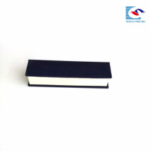 Sencai elegant rectangle magnetic cardboard box embossing custom logo EVA insert