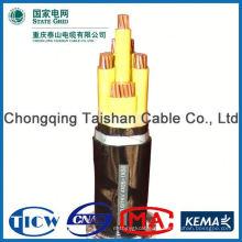 Gute Qualität PVC / XLPE Material 5521 DC Netzkabel für LED