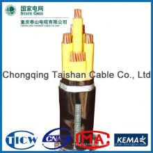 Хорошее качество ПВХ / XLPE материал 5521 DC кабель питания для светодиодов