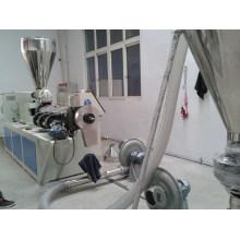 Machine de pelletisation de poudre de PVC en plastique