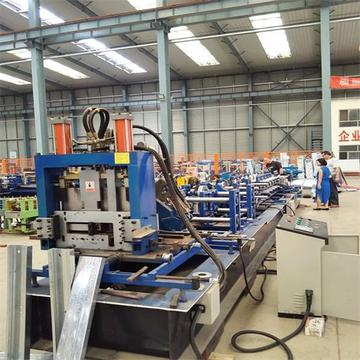 Gear drive automatic C/Z purlin roll forming machine