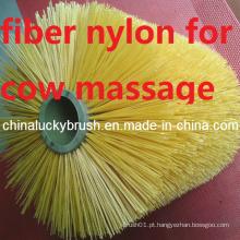 Escova de nylon de fibra para massagem automática vaca (yy-342)