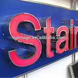 Wall Mounted Acrylic Signs from LED Sign Manufactures