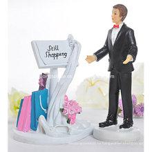 Еще Магазины Доска Объявлений Забавный Свадебный Торт Топпер Статуэтка