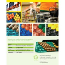 29X39cm, 29X49cm, 39X59cm Cellular Hexagon Polypropylene Display Trays for Fruit in Supermarket