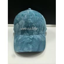Tie-Dyed Stoff Stickerei Mode Golf Cap