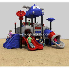 China for Outdoor Cartoon Aircraft Castle Children Slide System, Playground Equipment, Kids Multifunctional Amusement Park Play export to Virgin Islands (U.S.) Factory