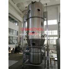 Fluid bed granulting machine