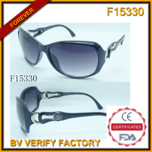 Gafas de sol de moda para mujer con muestra gratis (F15330)