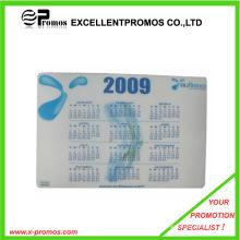 Werbung Irgendein Logo bedruckte kundenspezifische Mausunterlage mit Kalender (Ep-M1009)