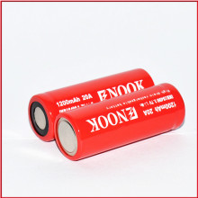 hot selling 18490 1200mAh 3.7V 20A  e-cigarette battery