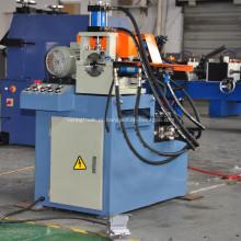 Máquina de rebarbação de extremidade de tubo de cabeça única automática