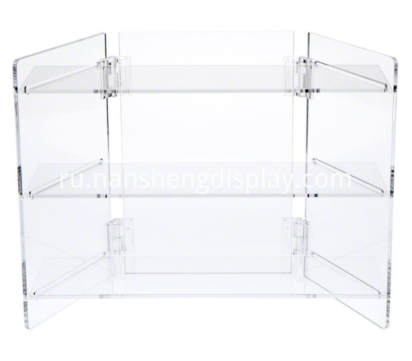 Clear Acrylic Portable Display