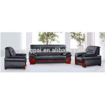 Wooden frame hot sale PUleather Sofa 01
