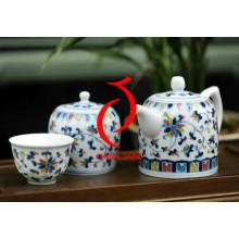 Vente chaude Décoration intérieure Ensemble de thé en céramique