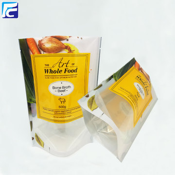 Food grade foil pickles packaging bag