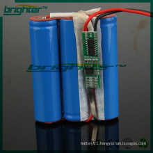 18650 lithium ion super capacitor for intercom