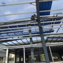 Construcción de estructura de acero Construcción de estructura de acero ligera