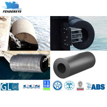 Cylindrical Marine Fender Cover con Pianc Standard