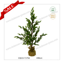 4feet Potted Flower Artificial Christmas Tree Christmas Decoration