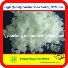 Niedrigerer Preis Caustic Soda Flakes / Solid 99% Fabrik