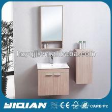 Gabinete moderno del espejo del cuarto de baño del diseño simple para el uso del cabrito Gabinete de la vanidad del cuarto de baño de la melamina