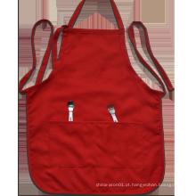 Avental por atacado do avental do babador da promoção do avental da cozinha